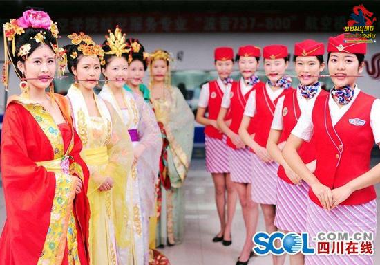 บูเช็คเทียนกำลังแรงสายการบินจีนตามกระแส