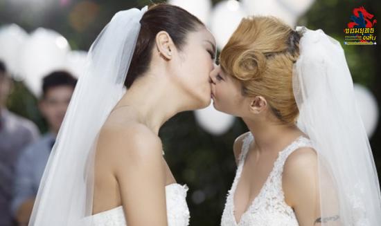 หลินซินหยู เล่นMV ประกบปากจูบ ไช่อี้หลิน