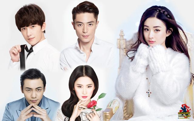 20 อันดับ ดาราจีนที่แฟนคลับไทยให้การต้อนรับมากที่สุด