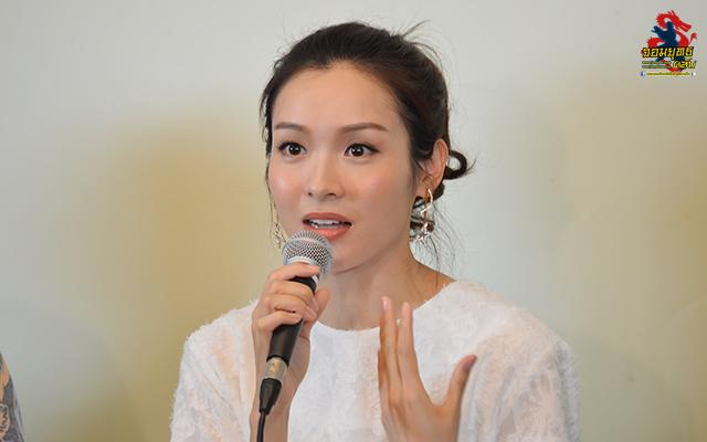 หมีเซียะ นำทีมนักแสดงTVB ร่วมแถลงข่าวเปิดตัว MVHub อาณาจักรของคนรักหนังจีน